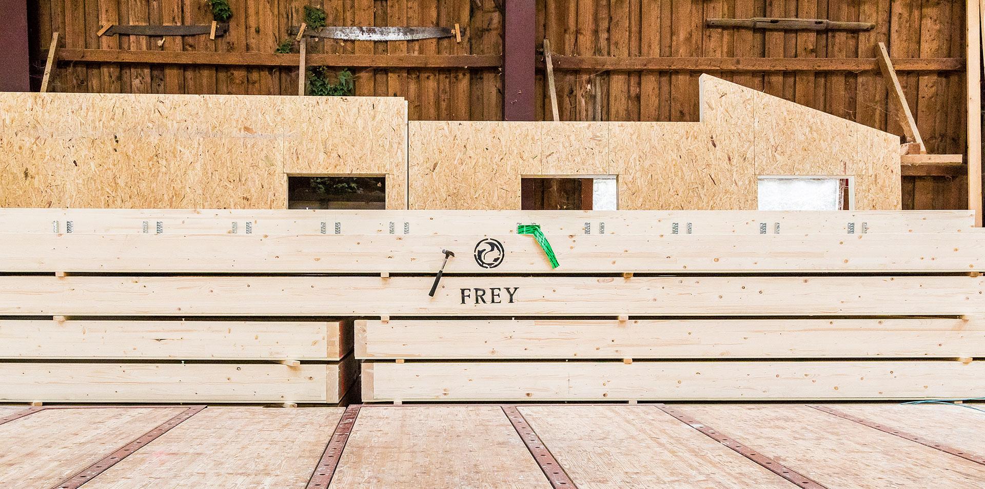 Die Frey GmbH aus Schwarzach steht für Qualität und Tradition