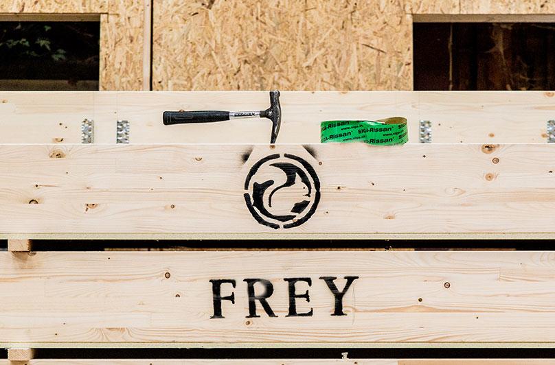 Die Zimmerei Frey unterstützt Sie bei Ihren Bauprojekten